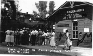 Last Train to Gays Mills 1939